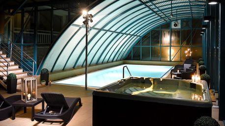 Odpočinek v Piešťanech s bazénem i polopenzí