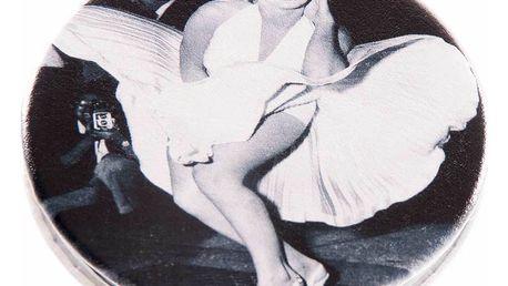 Kapesní kulaté zrcátko Marilyn Monroe Dance kovové