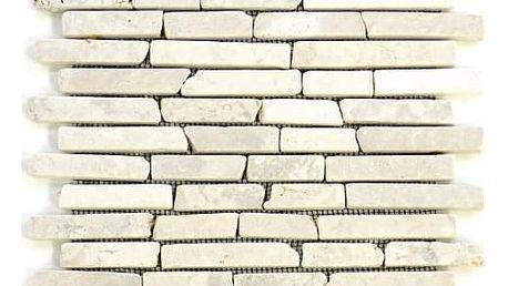Divero Garth 797 Mramorová mozaika - krémová 1 m2 - 30x30 cm