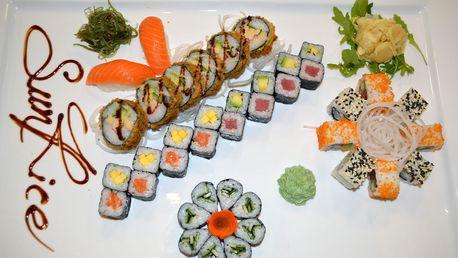 Set 30 nebo 40 kousků výborného sushi ve vietnamské restauraci