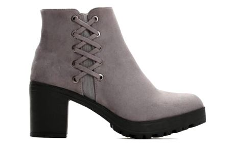 Dámské šedé kotníkové boty Maggie 2106