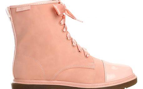 Dámské růžové kotníkové boty Donatella 6151
