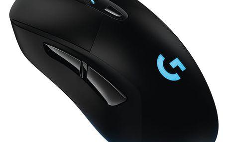 Myš Logitech Gaming G403 Prodigy wireless černá (/ optická / 6 tlačítek / 12000dpi) (910-004817)