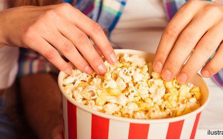 Slaný popcorn nebo velká porce cukrové vaty