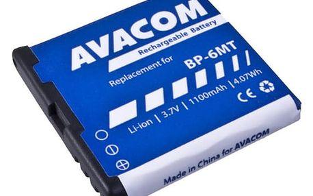 Baterie Avacom pro Nokia E51, N81, N81 8GB, N82, Li-Ion 1100mAh (náhrada BP-6MT) (GSNO-BP6MT-S1100A)