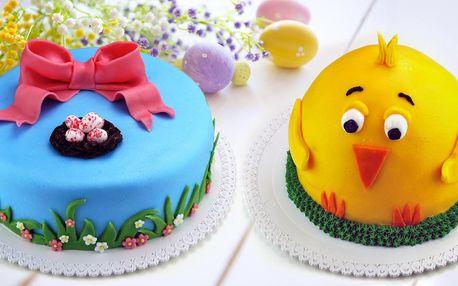 Prvotřídní dorty s motivy jara a Velikonoc