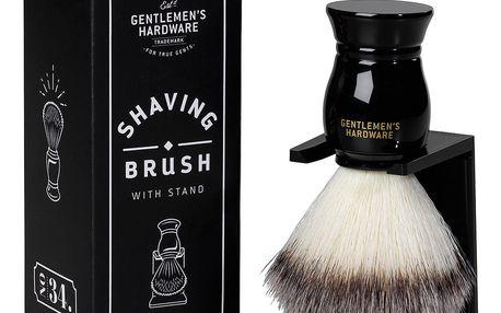 Štětka na holení se stojánkem Gentlemen's Hardware