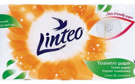 Linteo Satin toaletní papír - 3vrstvý 8 ks