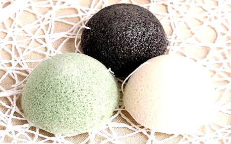Konjaková houba na čištění pleti. Po umytí bude vaše pokožka čistá, hladká a jemná.