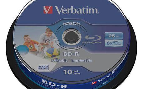 Disk Verbatim BD-R 25GB, 6x, 10-cake (43804)
