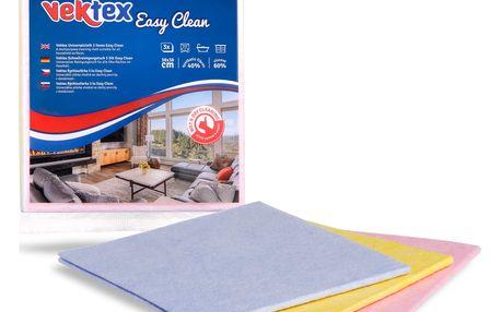 Vektex Easy Clean rychloutěrka 3 ks