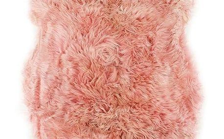 Růžová ovčí kožešina Royal Dream Sheep,120x60cm