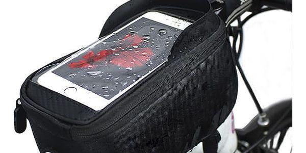 Voděodolné cyklistické pouzdro na mobil