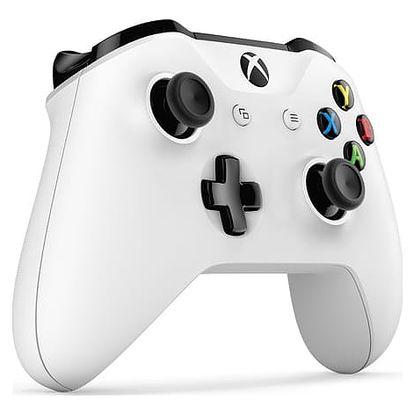 Gamepad Microsoft Xbox One S Wireless bílý (TF5-00003)