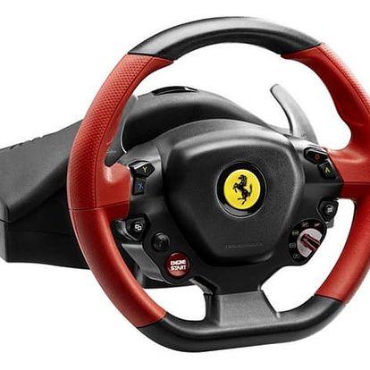 Volant Thrustmaster Ferrari 458 Spider pro Xbox One, One X, One S + pedály černý (4460105)