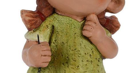 Trpaslík Dívka s lucernou