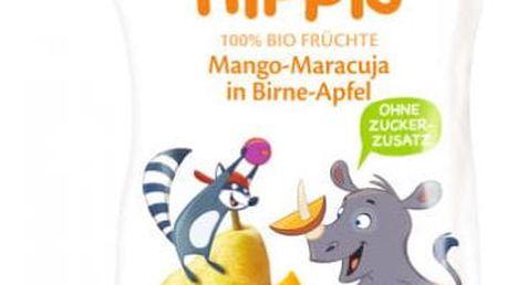 6x HIPP HiPPiS BIO 100% ovoce Hruška-Jablko-Mango-Marakuja 100 g – ovocný příkrm