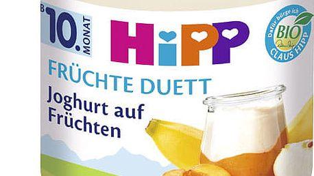 6x HIPP BIO Jogurt s ovocem, 160 g - ovocný přírkm