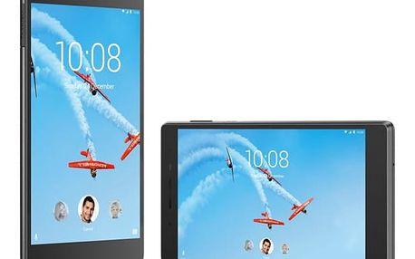 Dotykový tablet Lenovo TAB4 7 Plus 16GB LTE (ZA380076CZ) černý Software F-Secure SAFE, 3 zařízení / 6 měsíců v hodnotě 979 Kč