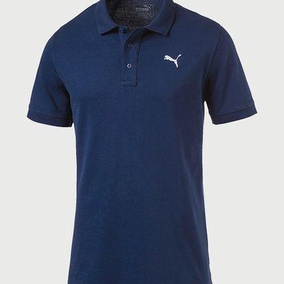 Tričko Puma Ess Pique Polo Blue Depths Modrá