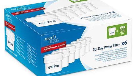 Filtr do filtračních konvic Hyundai Aqua Optima a Brita – 6 ks