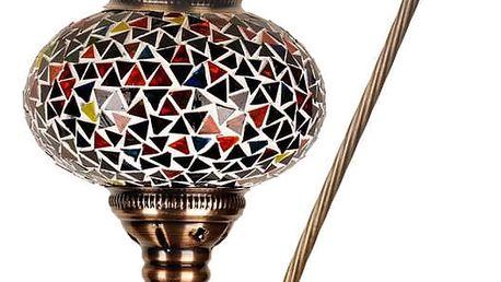 Skleněná ručně vyrobená lampa Oriental, ⌀17cm