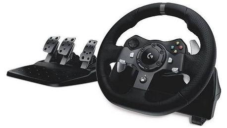 Logitech G920 pro Xbox One, One X, One S, PC + pedály (941-000123) černý