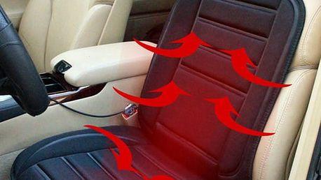 Vyhřívaný potah sedadla do auta - 12 V