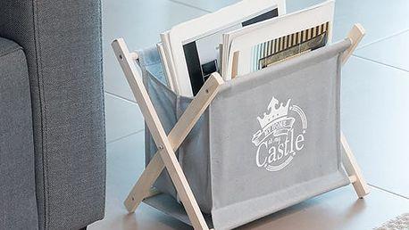 Skládací Stojan na Časopisy My Home is My Castle Homania