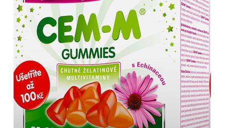 CEM-M gummies Imunita 60+60 tablet Dárkové balení 2017