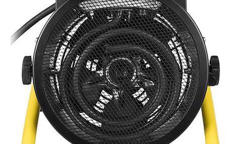 Teplovzdušný ventilátor Tristar KA-5061 černý/žlutý