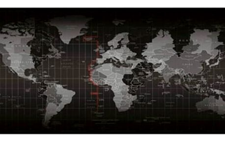 Velká podložka pod myš - Mapa světa - dodání do 2 dnů