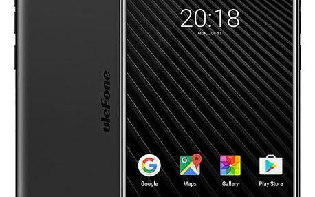 Mobilní telefon UleFone T1 Dual SIM černý + dárek