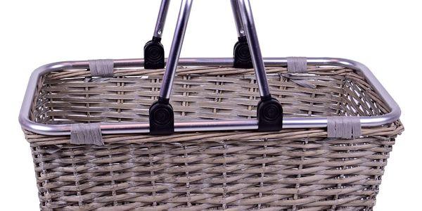 Nákupní proutěný košík EgoDekorBoutique