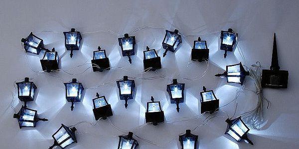 Garthen 222 Venkovní solární LED osvětlení - Lucerničky 24 LED diod