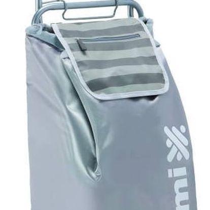 Gimi Nákupní taška na kolečkách Flexi šedá, 45 l