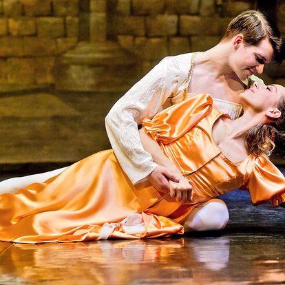 Vstupenka na baletní představení Romeo a Julie