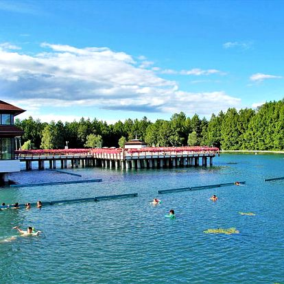 Relax kousek od jezer Hévíz a Balaton v rodinném penzionu se vstupem do vyhlášených termálů + wellness neomezeně a polopenze
