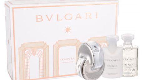 Bvlgari Omnia Crystalline dárková kazeta pro ženy toaletní voda 40 ml + tělové mléko 40 ml + sprchový gel 40 ml