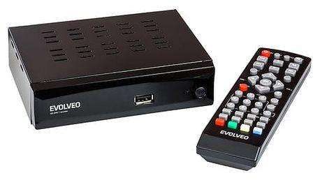 DVB-T přijímač Evolveo ALPHA HD černý