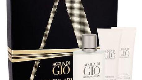 Giorgio Armani Acqua di Gio Pour Homme EDT dárková sada M - EDT 100 ml + balzám po holení 75 ml + sprchový gel 75 ml