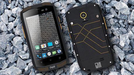 Outdoorový dotykový DualSIM telefon Pelitt Tempo