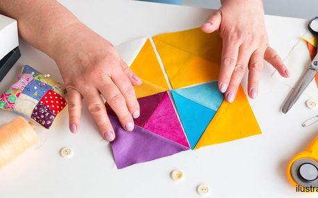 Základy patchworku v 6 lekcích, pomůcky v ceně