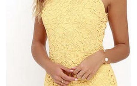 Letní krajkované šaty - 5 barev/velikost 2 - 6