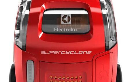 Vysavač podlahový Electrolux SuperCyclone ESC61LR červený