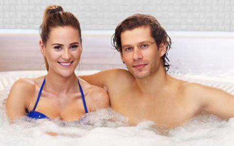 Soukromá relaxace: vířivka, sauna a občerstvení