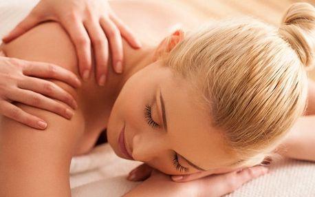 Půlhodinka pro vás: relaxační masáž zad a šíje