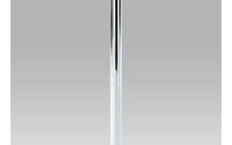 Barový stůl AUB-6050 bílo-stříbrný plast, pr.60cm