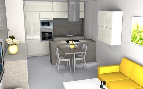Profesionální zpracování 3D návrhu kuchyně
