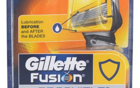 Gillette Fusion Proshield 4 ks náhradní břit pro muže